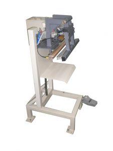 Varilica za zatvaranje polietilenskih kesa sa pneumatskim zatvaranjem čeljusti L-400-PV-400