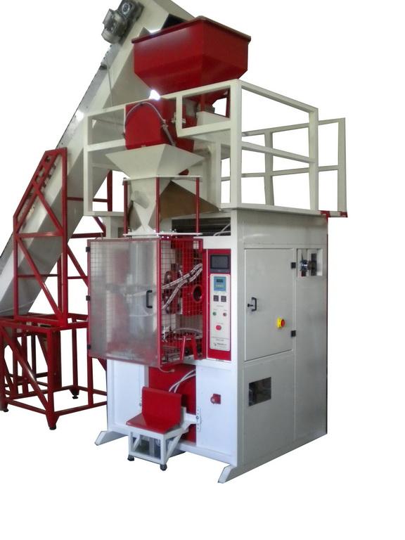APKZ-1500 AUTOMATIC MACHINE FOR PACKAGING PELLET