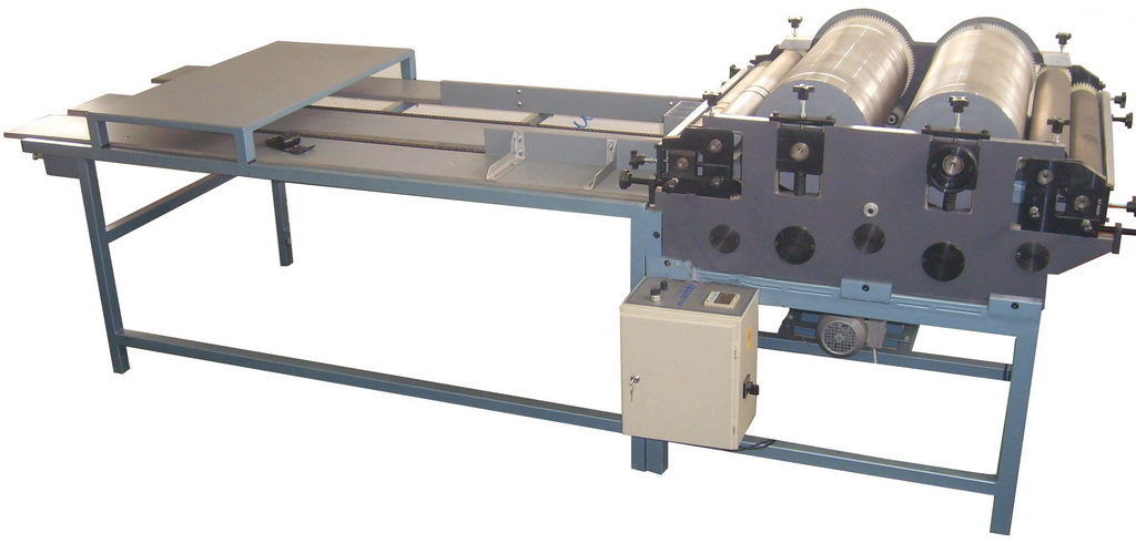 MFS2-1000 FLEXO PRINTING MACHINE WITH TWO COLORS