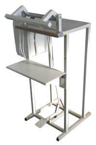 Varilica za zatvaranje polietilenskih kesa sa nožnim zatvaranjem čeljusti L-400-NV-400